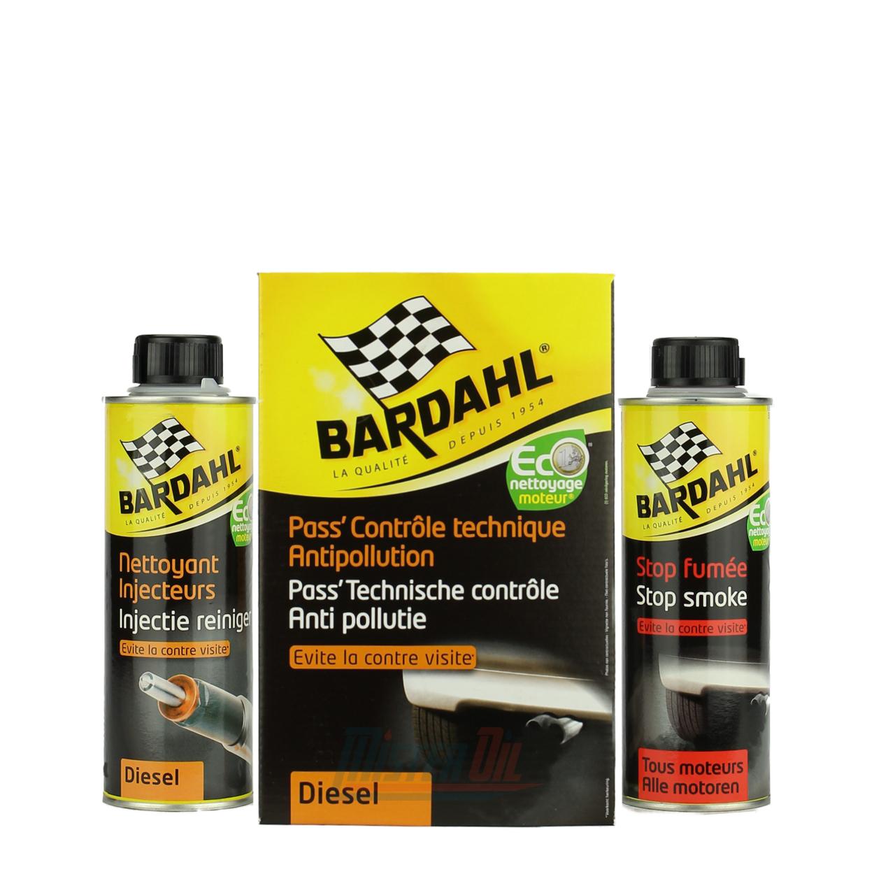 bardahl pass controle technique antipollution diesel 90453 misteroil nr 1 en belgique. Black Bedroom Furniture Sets. Home Design Ideas