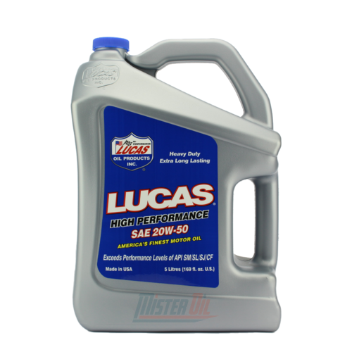 Lucas Oil Motor Oil High Mileage (10255)