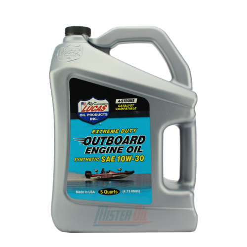 Lucas Oil Outboard Synthetic Engine Oil (10812)