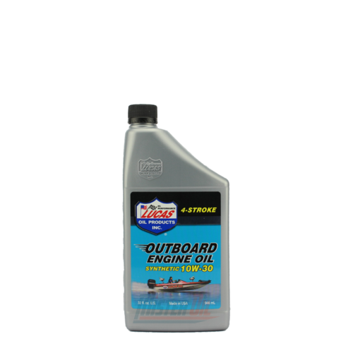 Lucas Oil Outboard Synthetic Engine Oil (10661) - 1