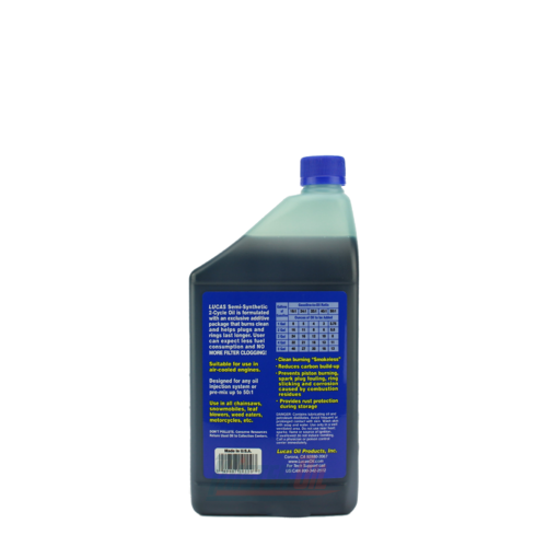 Lucas Oil Semi-Synthetic 2 Cycle Oil (10110) - 1