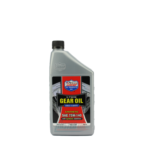 Lucas Oil Synthetic V-Twin Gear Oil (10791)
