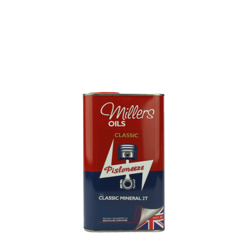 Millers Oil Classic Pistoneeze Classic Mineral 2T