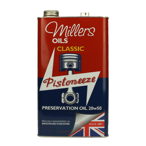 Millers Oil Classic Pistoneeze Preservation Oil