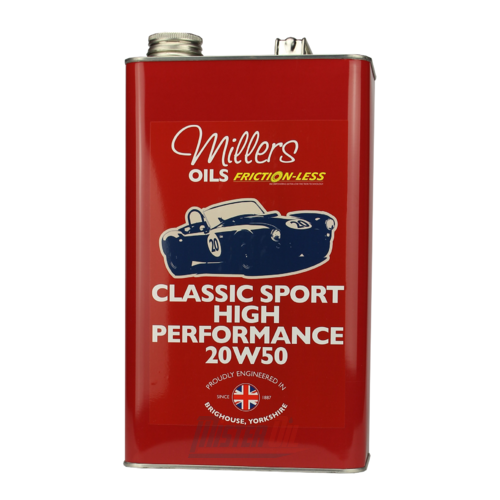 Millers Oil Classic Sport Pistoneeze High Performance