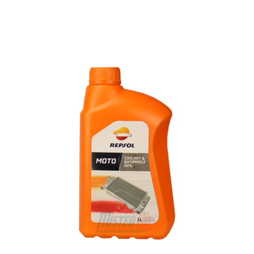 Repsol Moto Coolant And Antifreeze 50%